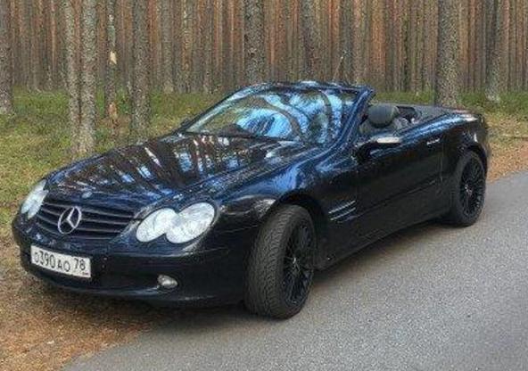 Mercedes-Benz SL-класс,  2003